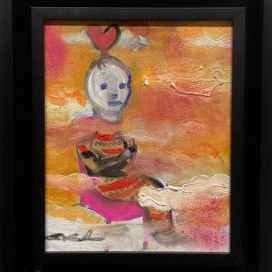 田中拓馬スタジオのミッション・アートという作品を通じて顧客の皆様の笑顔を増やす