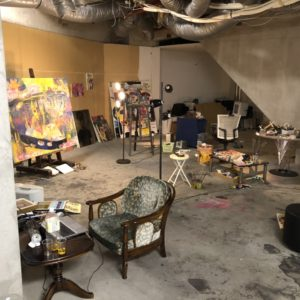 スタジオの工事が11日から始まります。