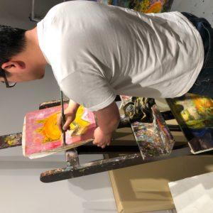 アート作品を作る過程の話